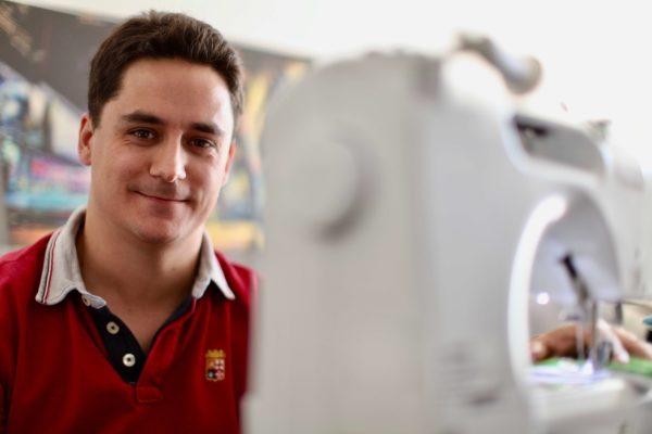 Julien CAMPAN, entrepreneur textile